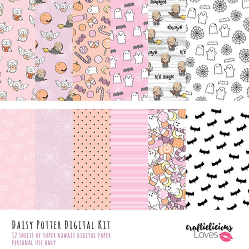 Daisy Potter - Digital Papers