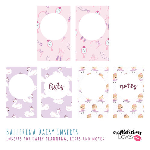 Ballerina Daisy - Inserts