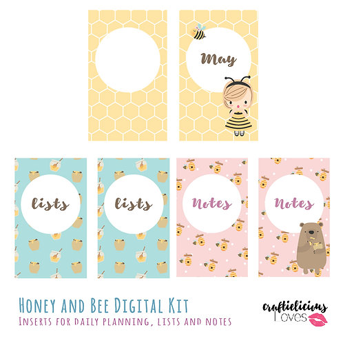 Honey and Bee - Inserts