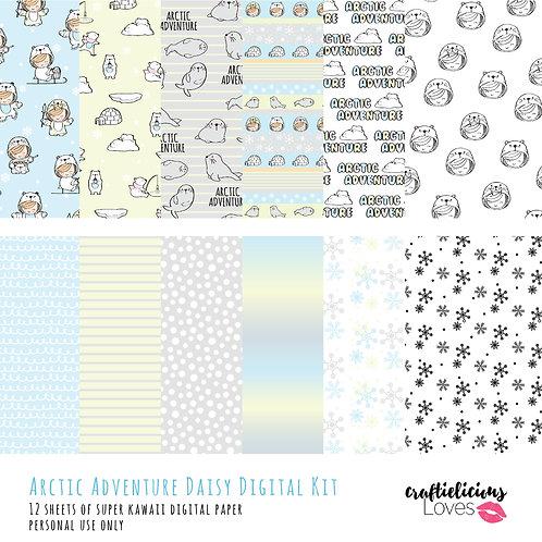 Arctic Adventure - Digital Papers
