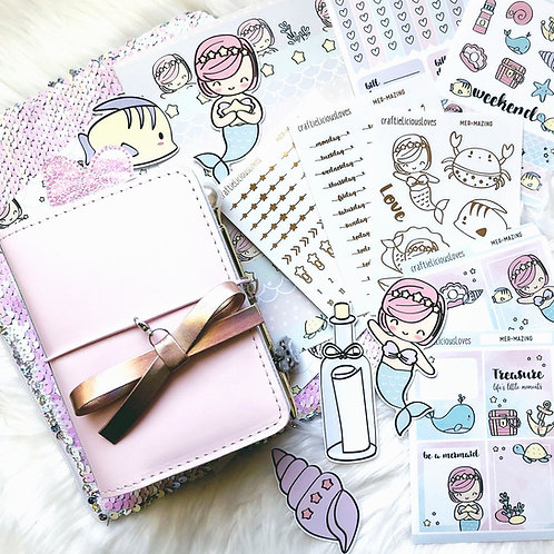 Little Mermaid Sticker Kit