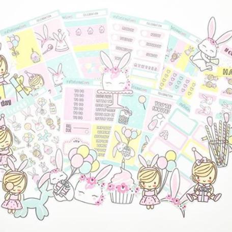 Celebration Daisy Sticker Kit