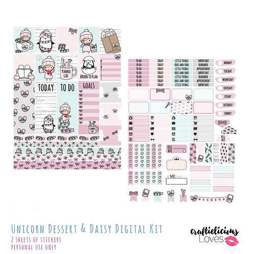Planner Girl Daisy - Stickers