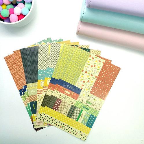 Korea pre-cut sticker set - Petit Decor ver 3