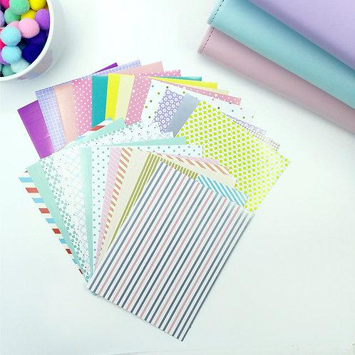 Korea masking tape stickers set 2