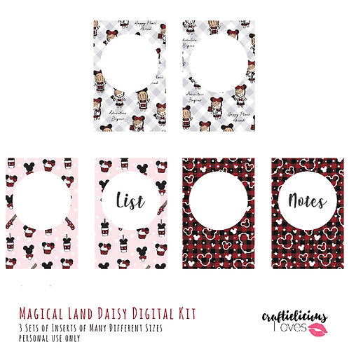 Magical Land - Inserts