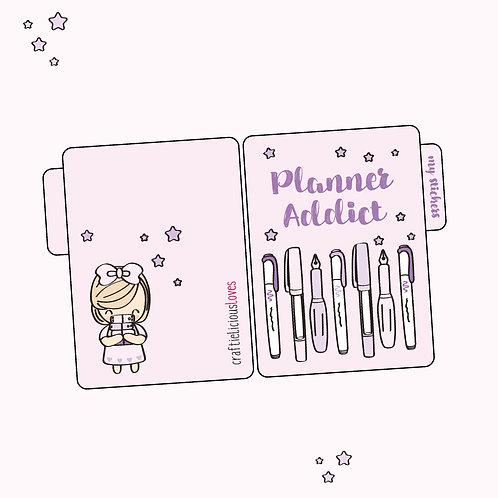 Planner Addict Sticker Pocket