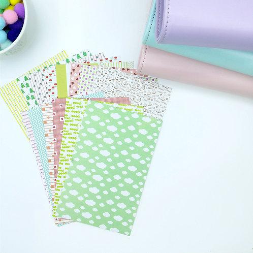 Korea masking tape stickers set 1