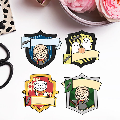 Daisy Potter crests