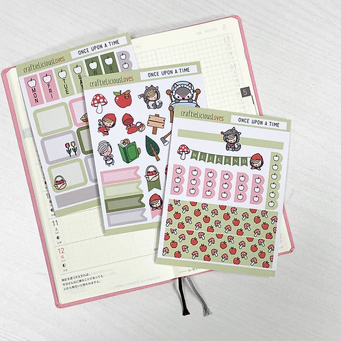 Once Upon a Time hobonichi kit