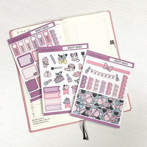Beauty Queen hobonichi kit