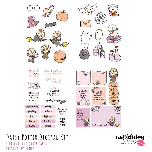 Daisy Potter - Die Cuts and Cards