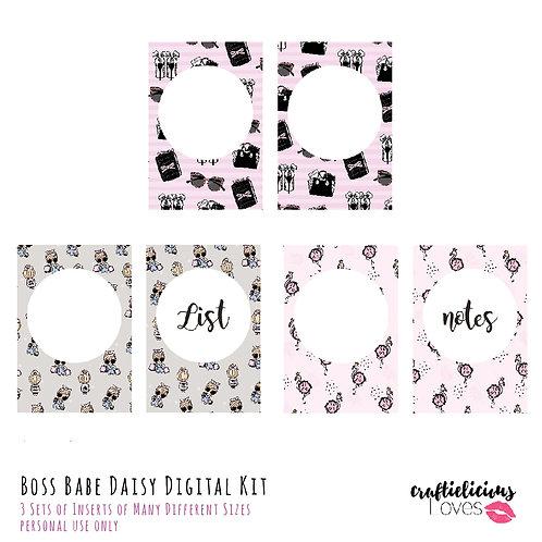 Boss Babe Daisy - Inserts