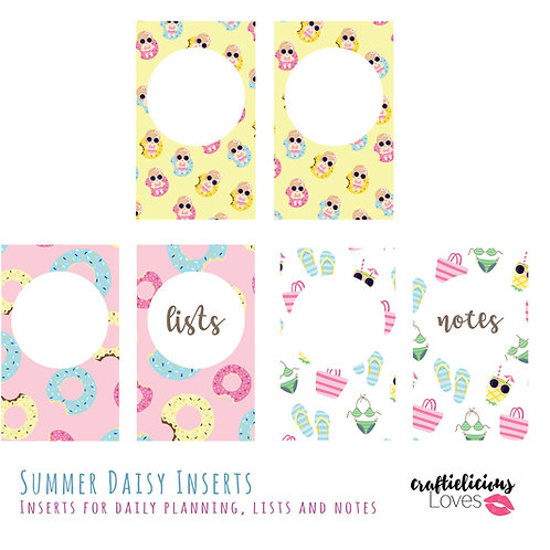 Summer Daisy - Inserts