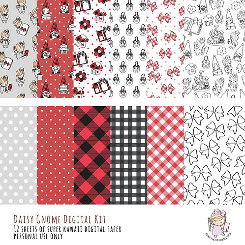 Daisy Gnome - Digital Papers