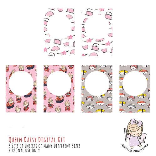 Sushi Love Daisy - Inserts