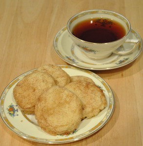 Amish Snickerdoodles…Just right with a cuppa tea