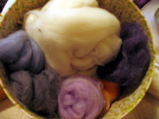 A Play Day…..I felted !