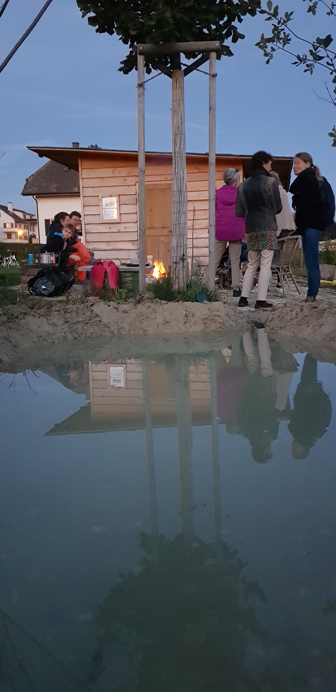 Création de l'étang & Assemblée générale