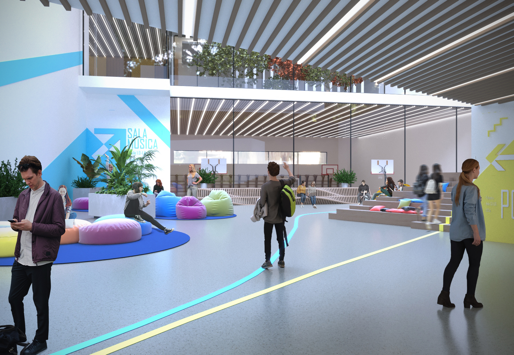 1º Posto - Gara per il Progetto della Nuova Scuola Media di  Fiuggi