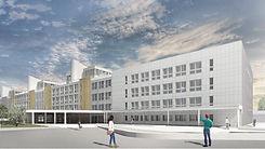 Udine Hospital Facade