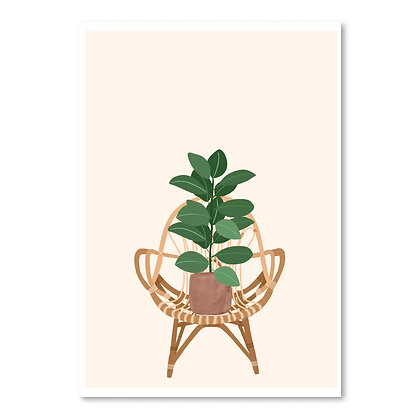 rubber plant chair