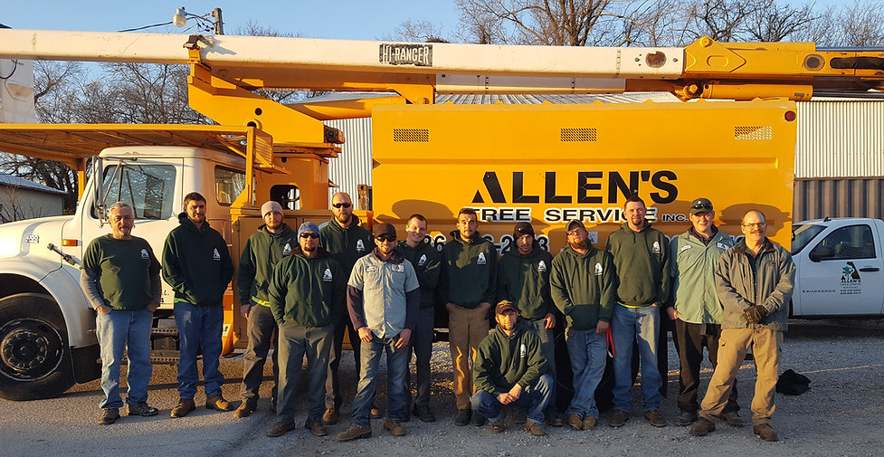 Allen's Tree Service Inc.'s Tree Crews