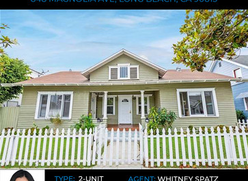 Alden Pacific Investments Completes the Purchase of a Charming Duplex in Downtown Long Beach