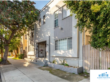 Alden Pacific Investments Completes Purchase of 4-Units in Long Beach