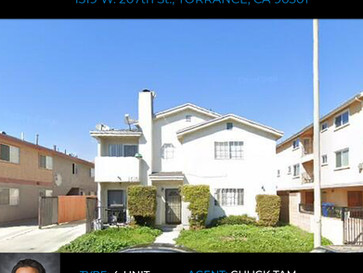 Alden Pacific Investments Completes the Sale of 4-Units in Torrance