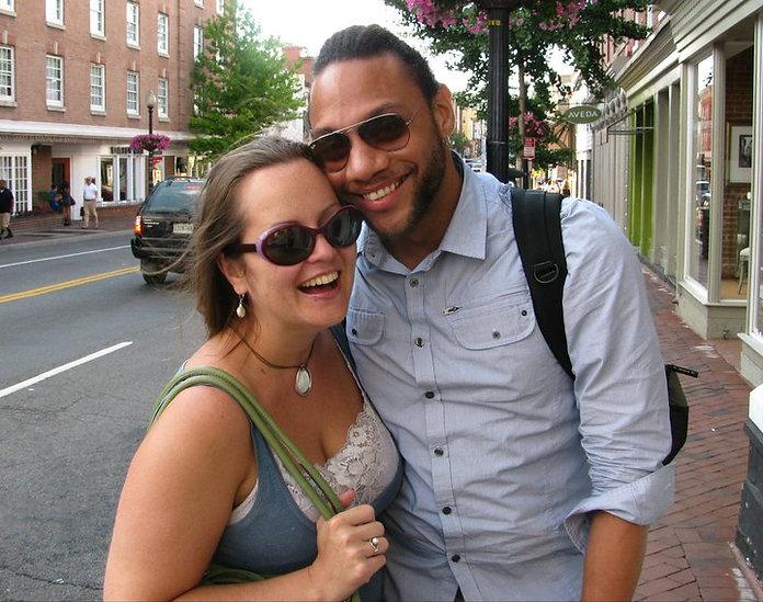 Jennifer & Ricardo in Georgetown, Washginton DC