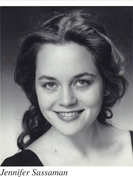 Jennifer Sassaman Headshot 1996