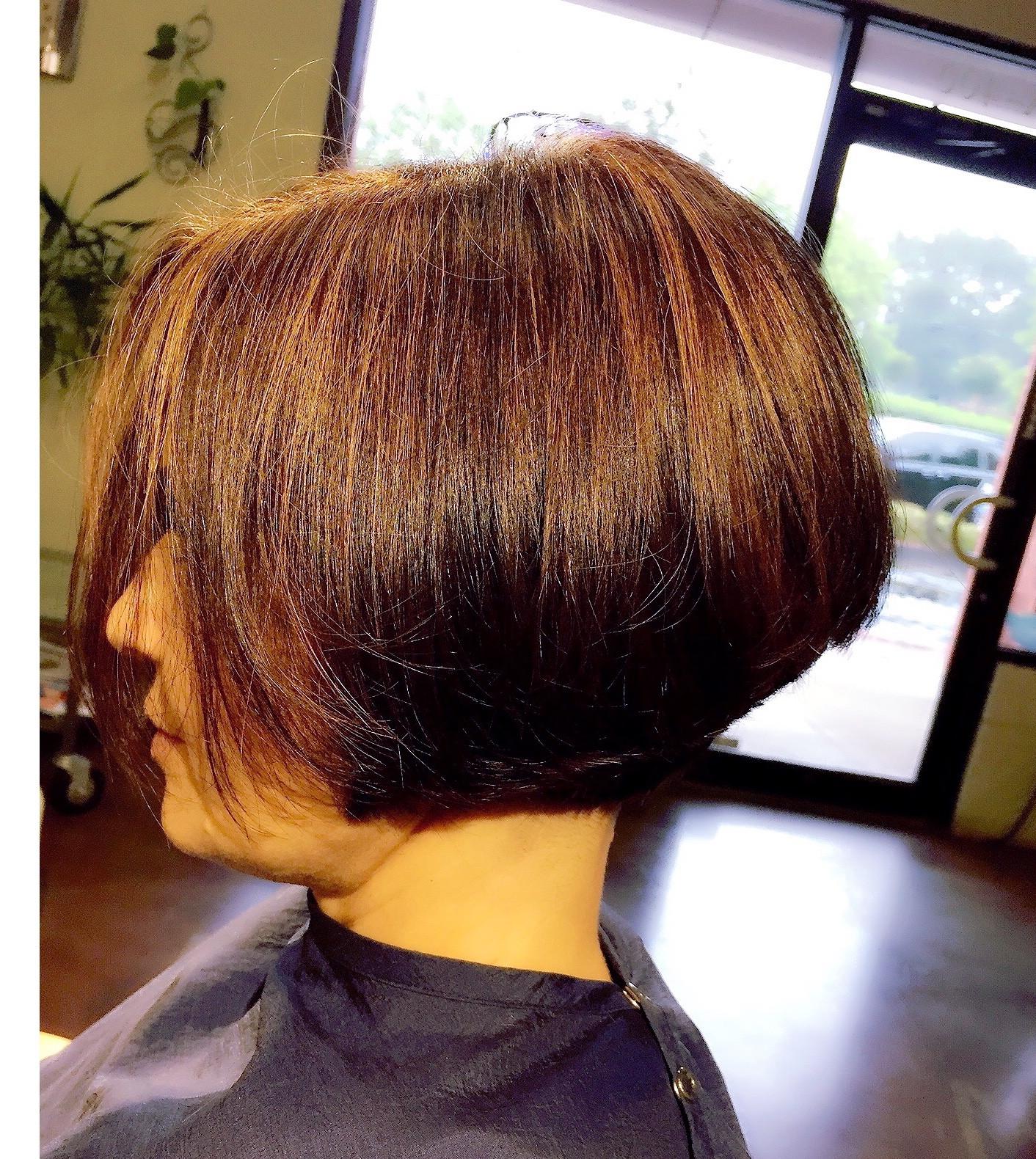 Woman Designer's Hair cut