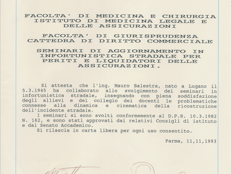 Dall'Università degli Studi di Parma all'Alma Mater Studiorum di Bologna