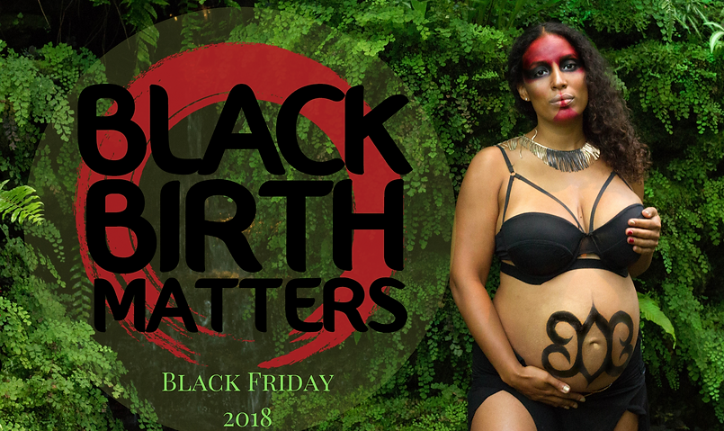 Black Birth Matters banner