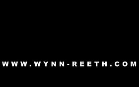 Wynn-Reeth logo black bold lettering