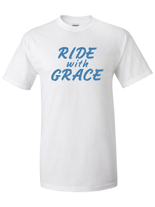 White Ride with Grace shirt