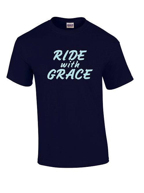Dark Blue Ride with Grace Shirt