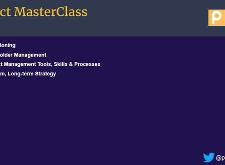 Product Masterclass