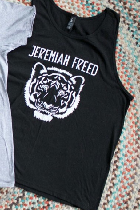 "Black XL Jeremiah Freed ""Tiger"" Tank"