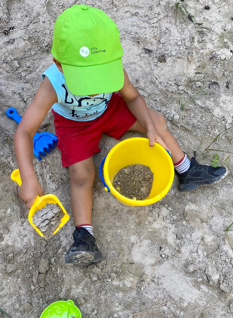 Bild 38: KITA Little Frogs Zürich, Impressionen Kinderbetreuung