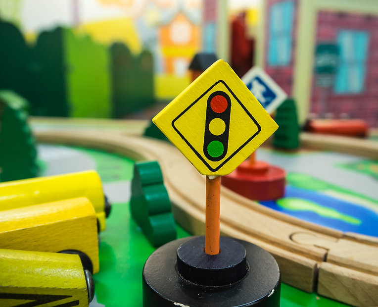 Traffic light sign a toy for kid..jpg