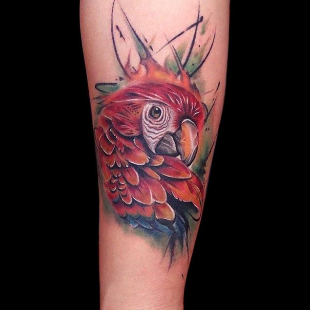 Parrot Tattoo | Ripz Tattoo