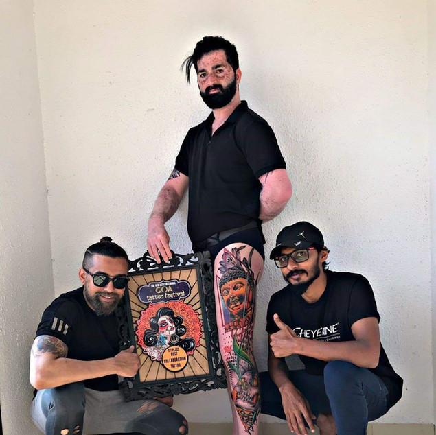 Color Buddha Tattoo | Ripz tattoo guwahati