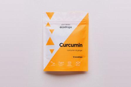 HEALTHBERRY ECODROPS CURCUMIN 30 шт.