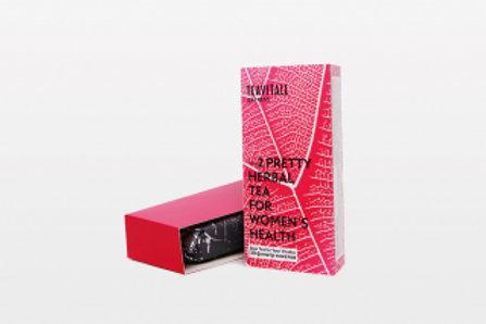 TEAVITALL EXPRESS PRETTY 2,30 ФИЛЬТР-ПАКЕТОВ Чайный напиток для женского здоровь