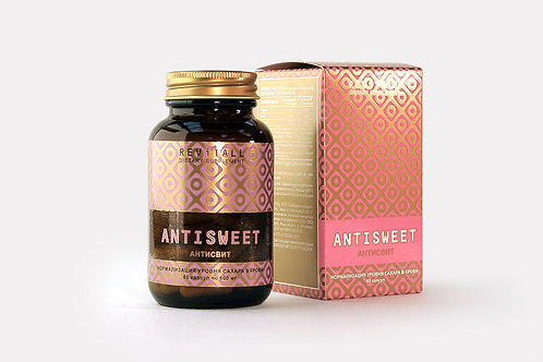 REVITALL ANTISWEET, 60 КАПСУЛ