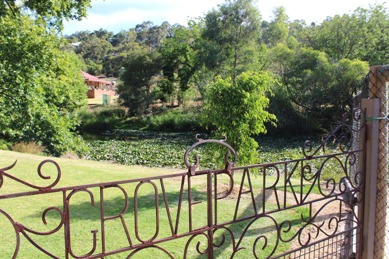 Grove Park entry gates