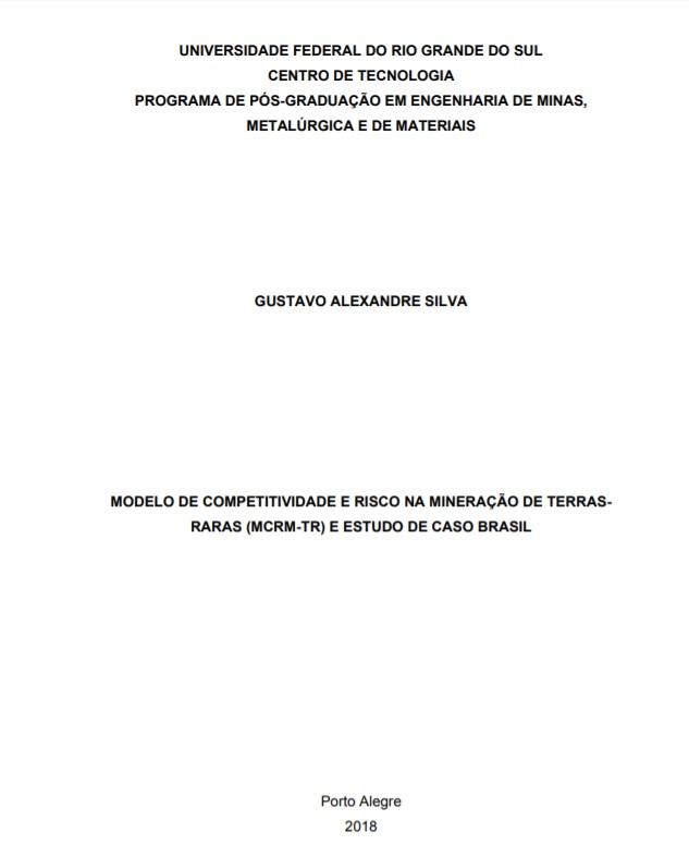 Tese: Modelo de competitividade e ri