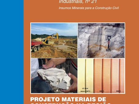 SERVIÇO GEOLÓGICO DO BRASIL PUBLICA: POTENCIAL MINERAL PARA MATERIAIS DE CONSTRUÇÃO DA REGIÃO METROP